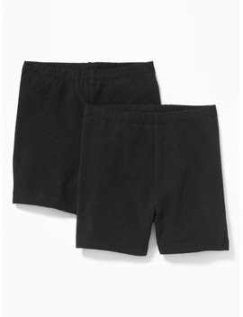 2 Pack Biker Shorts For Toddler Girls by Old Navy