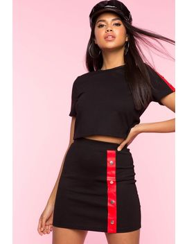 Kelly Contrast Skirt by A'gaci
