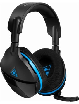 Stealth 600 Wireless Surround Sound Gaming Headset For Play Station 4 And Play Station 4 Pro   Black/Blue by Turtle Beach