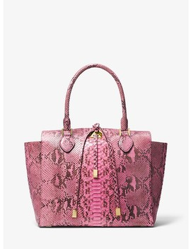 Miranda Python Large Tote by Michael Kors Collection