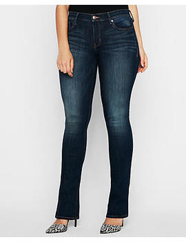 Mid Rise Stretch Skyscraper Jeans by Express