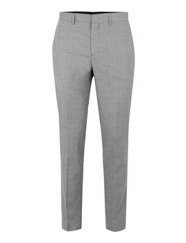 Grey Marl Skinny Fit Suit Trousers by Topman