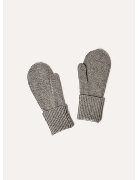 Cashmere Cuffed Mitten by Auxiliary