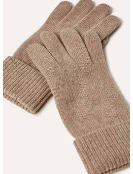 Cashmere Cuffed Gloves by Auxiliary