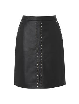 Lisa Black Leather Skirt by L.K.Bennett