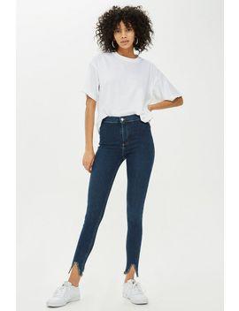 Sulphur V Hem Joni Jeans by Topshop
