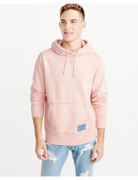 midweight-fleece-hoodie by abercrombie-&-fitch