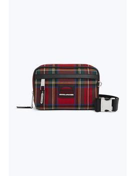 Tartan Sport Belt Bag by Marc Jacobs