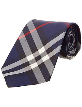 Burberry Clinton Exploded Classic Check Tie by Burberry
