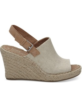 Natural Oxford Women's Monica Wedges by Toms
