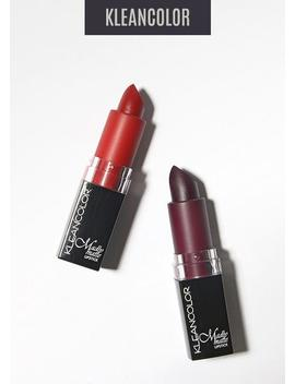 Kleancolor Madly Matte Lipstick   Red Tones by Kleancolor