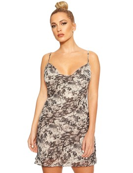 Cold Hearted Snake Mini Dress by Naked Wardrobe