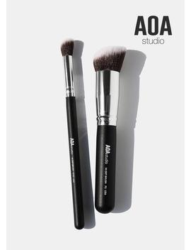 The F3 & E103 Kabuki Brush Duo by Shop Aoa