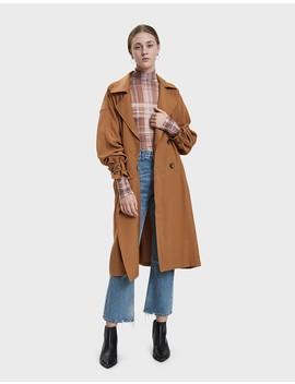 Krisha Woven Jacket In Caramel by Farrow