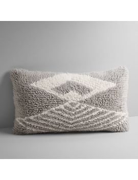 Aziza Shag Pillow Cover by West Elm