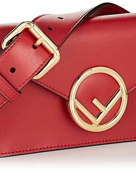Leather Belt Bag by Fendi