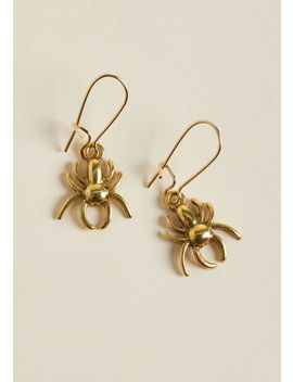 Lenora Dame Itsy Glitzy Spider Earrings by Lenora Dame