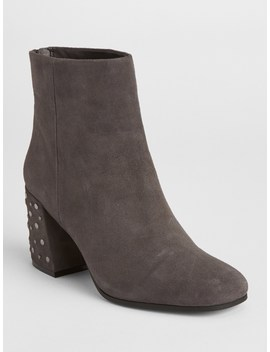 Square Toe Block Heel Boots by Gap
