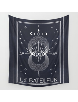 The Magician Or Le Bateleur Tarot Wall Tapestry by