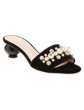 Kate Spade New York Penrose Embellished Slide Sandal by Kate Spade New York