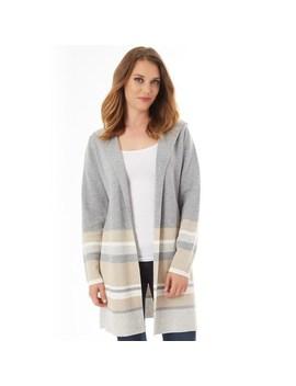 Women's Apt. 9® Striped Long Cardigan by Apt. 9