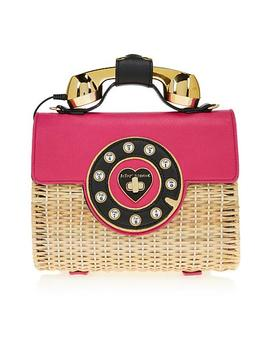 Betsey Johnson Wicker Phone Bag by Betsey Johnson