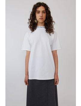 Oversized T Shirt Weiß by Acne Studios