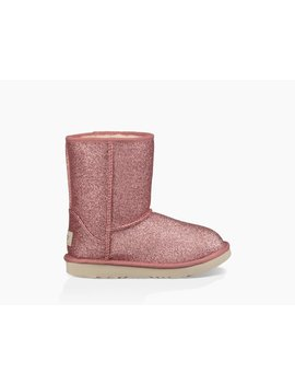 Classic Ii Short Glitter Boot by Ugg