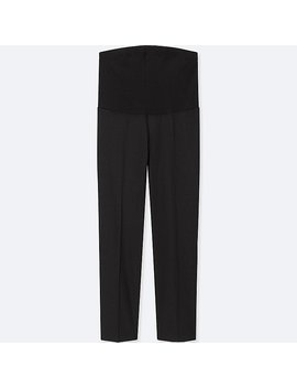 Women Maternity Ezy Ankle Length Pants by Uniqlo