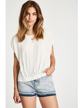 Reinwood Gathered Hem Top by Jack Wills