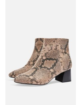 **Wide Fit Babe Ankle Boots by Topshop