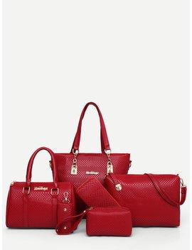 Pu Combination Bag 6pcs by Romwe