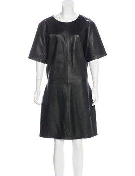 Frame Leather Knee Length Dress W/ Tags by Frame