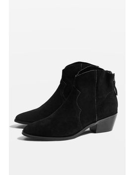 Betty Western Ankle Boots by Topshop