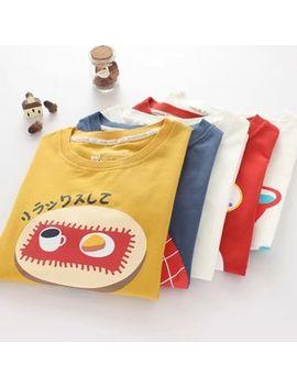 Mori Girls   Short Sleeve Printed T Shirt by Mori Girls