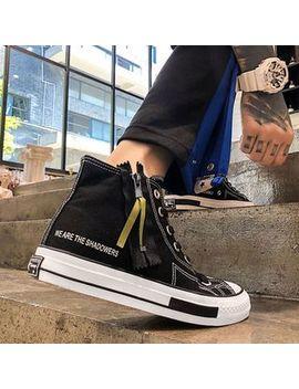 Solejoy   High Top Canvas Sneakers by Solejoy