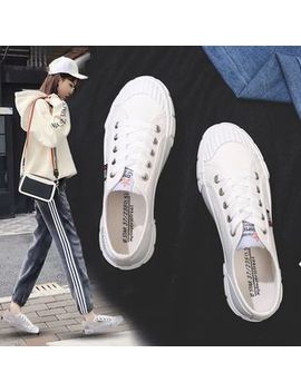Solejoy   Lace Up Canvas Sneakers by Solejoy