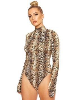 Rattle Me Up Bodysuit by Naked Wardrobe