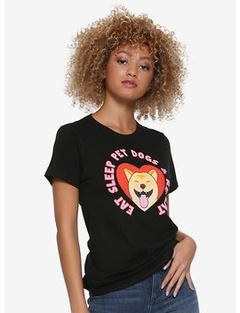 eat,-sleep-&-pet-dogs-girls-t-shirt by hot-topic
