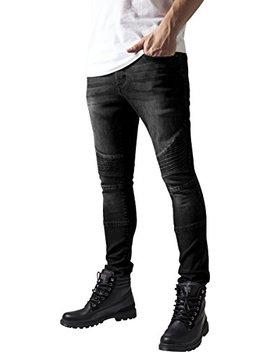 Urban Classics Slim Fit Biker, Jeans Uomo by Urban Classics