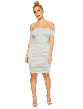 Ruched All Night Mini Dress by Naked Wardrobe