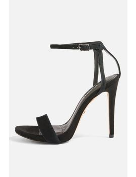 Rapture Two Part Skinny Heel Sandals by Topshop