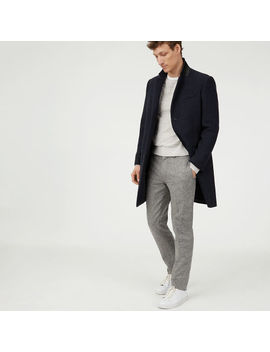 Wool Twill Topcoat by Club Monaco