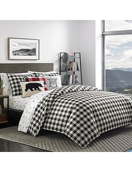 Eddie Bauer® Mountain Plaid Duvet Set by Bed Bath And Beyond