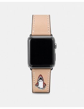 Apple Watch® Strap With Sharky by Coach