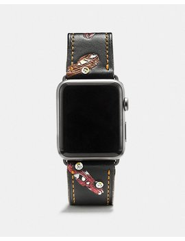 Apple Watch® Strap With Car Print by Coach