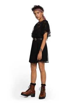 Partykleid Mit Mesh Polkadot Design by Scotch&Soda