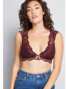 Hide And Seek Lace Bralette by Modcloth