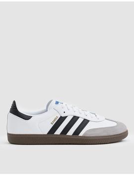 Samba Og Sneaker In White by Adidas