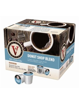 Donut Shop Blend Coffee Pods (60 Pack) by Victor Allen's